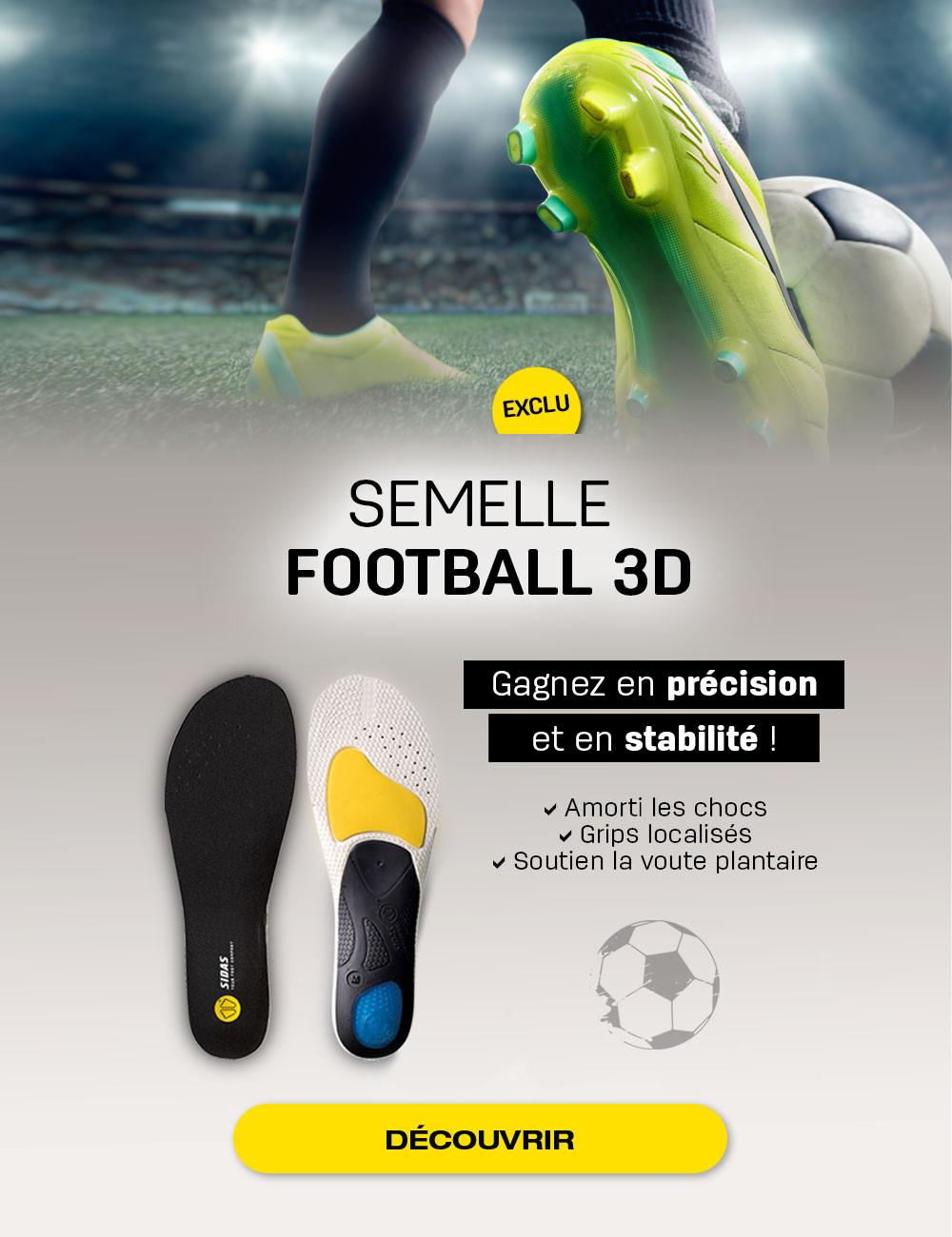 Semelles Football 3D